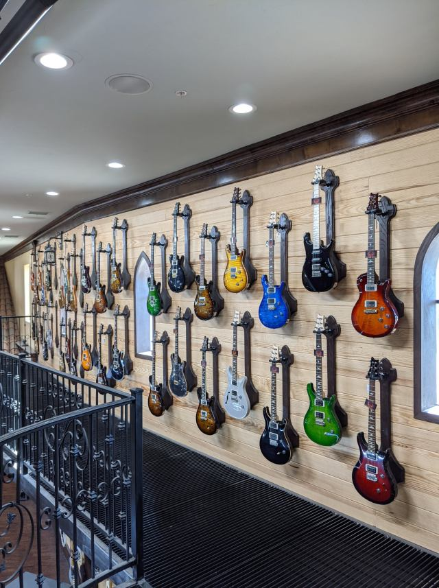 Guitars for sale at Guitar Sanctuary in McKinney, Texas