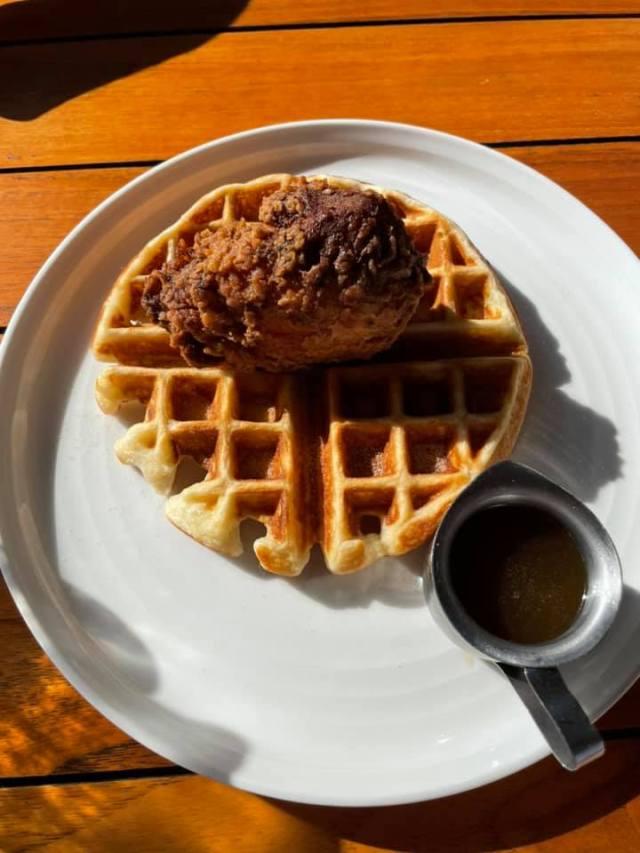 Waffle at Bonton Farms in South Dallas, Texas